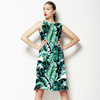 Watercolor Banana Leaf (Dress)