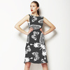 Butterflies Black and White (Dress)