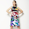 Colorful Geometry (Dress)