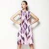 Pink Lizard Abstract (Dress)
