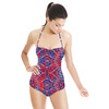 Geometric in Blue (Swimsuit)