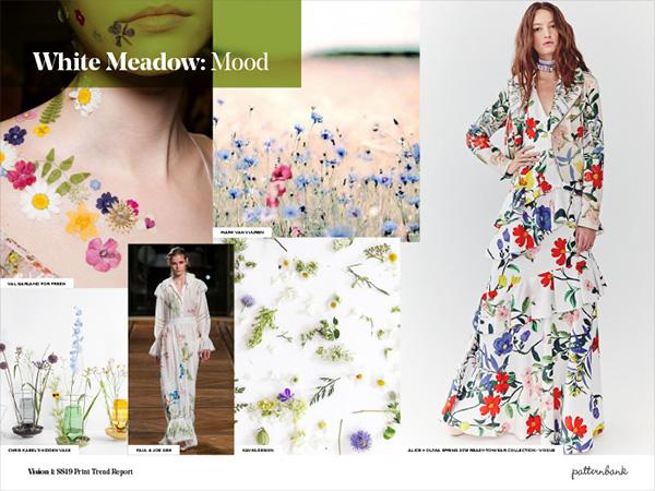 Design Print Trends: Vision 1: Spring/Summer 2019 Print Trend Report