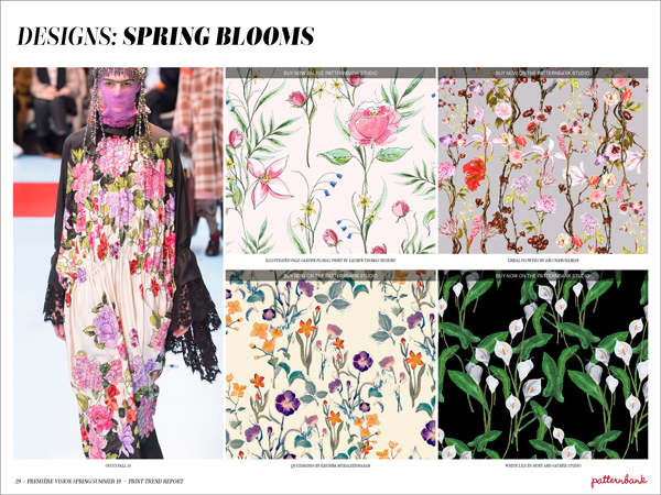 Première Vision Spring/Summer 2019 Print & Pattern Trend ...