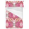Pink Damask Paisley (Bed)