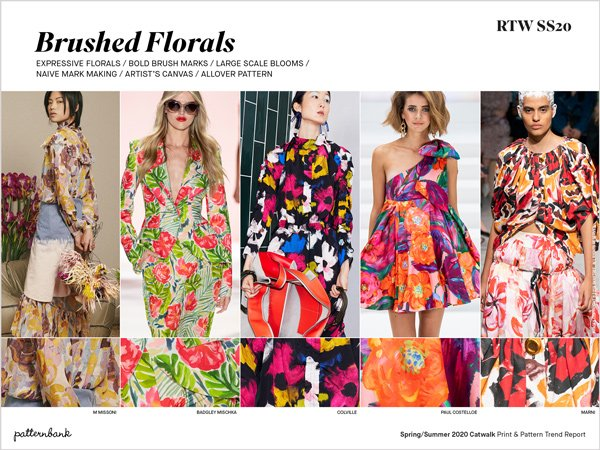 Pattern Trends 2020.Spring Summer 2020 Catwalk Print Pattern Trend Report